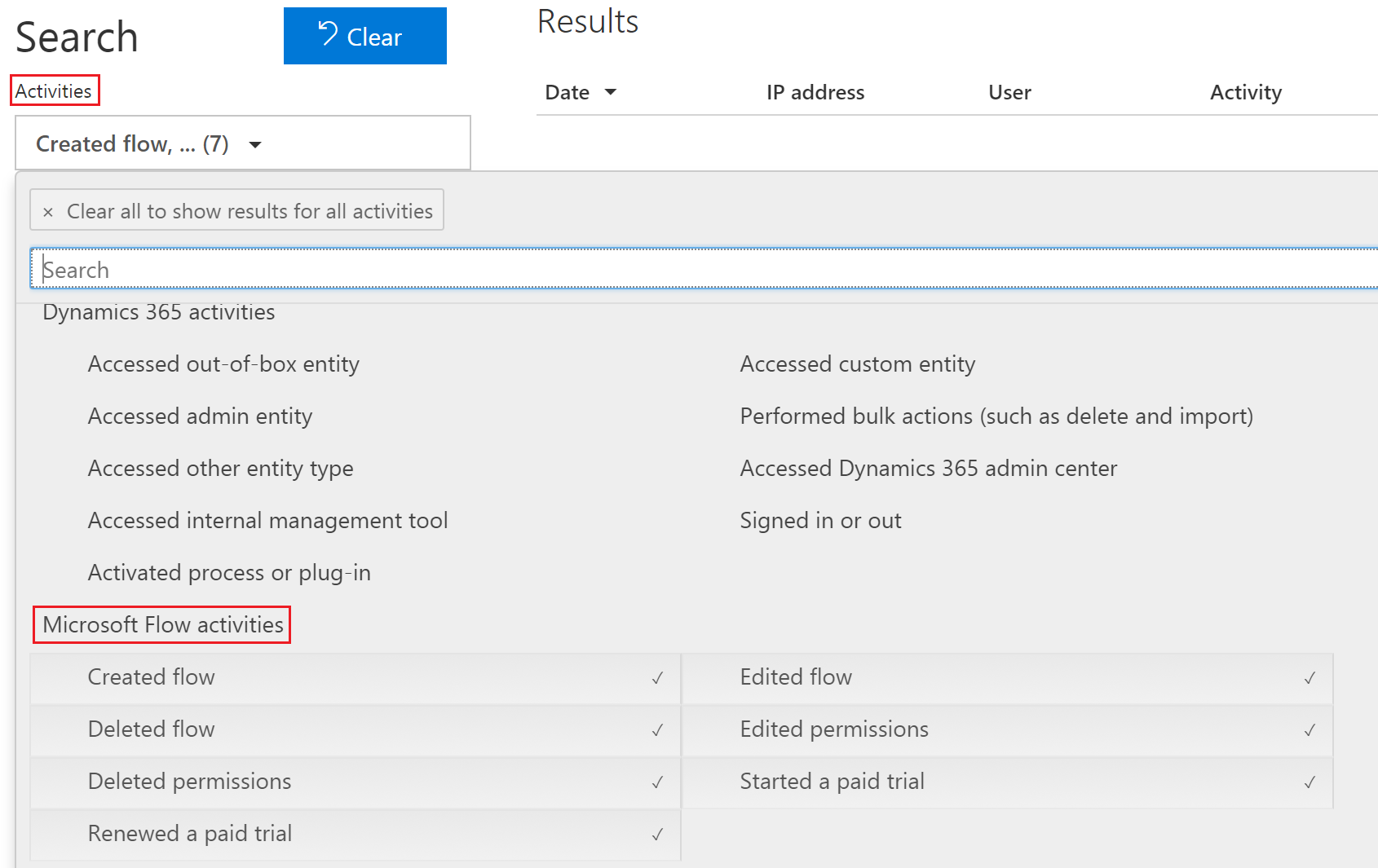 Microsoft Flow audit events now available in Office 365 Security & Compliance Center