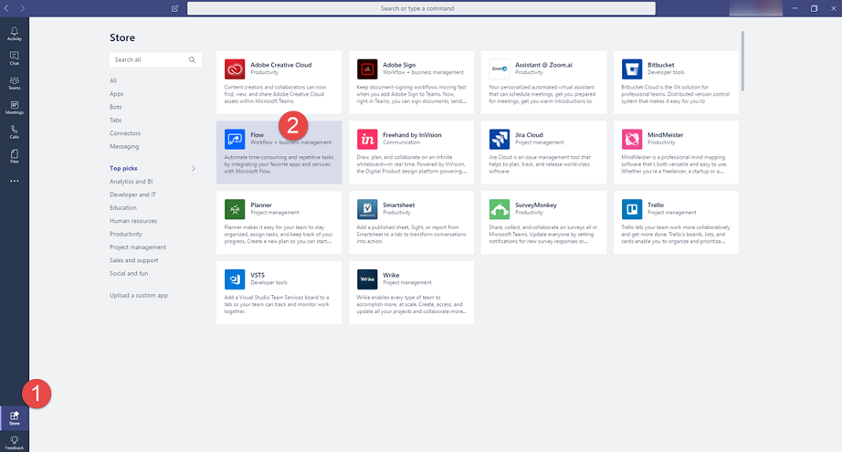 Introducing Flow Integration In Microsoft Teams Power Automate Blog