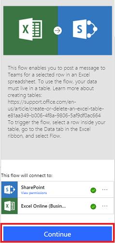 introducing microsoft flow integration in excel flow blog