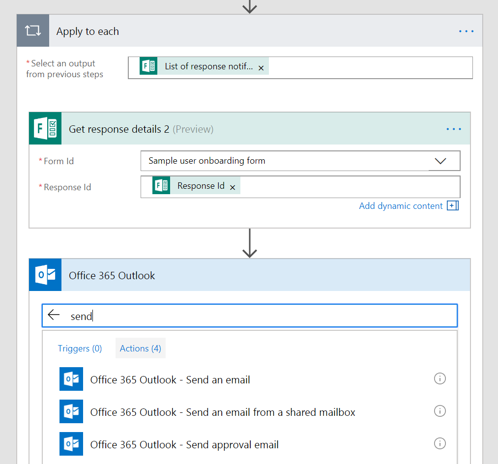 Building Flows From Scratch That Handle Microsoft Forms Responses