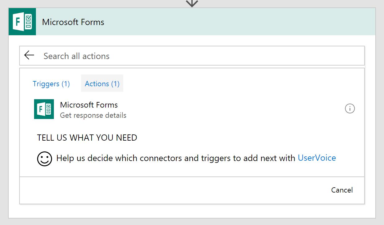 Building flows from scratch that handle Microsoft Forms responses ...