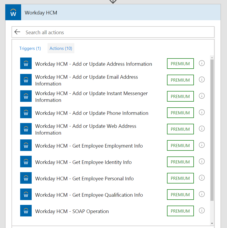 Use Microsoft Flow with Workday HCM and ServiceNow | Flow Blog